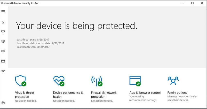 Anti-virus Security